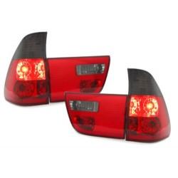 LAMPY TYLNE BMW X5 00-02 CZERWONE / DYMIONE
