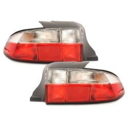 LAMPY TYLNE BMW Z3 96-99 CZERWONE / PRZEŻROCZYSTE