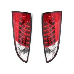 LAMPY TYLNE LED FORD FOCUS 98-04 CZERWONE / PRZEŹROCZYSTE