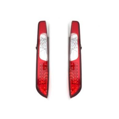 LAMPY TYLNE LED FORD FOCUS 08-10 CZERWONE/PRZEŹROCZYSTE