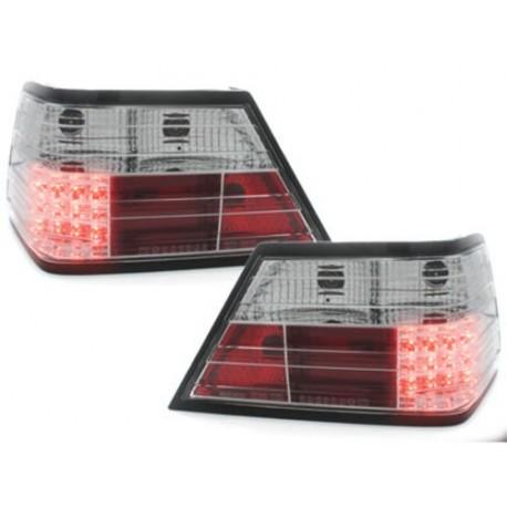 LAMPY TYLNE LED MERCEDES BENZ W124 E-KLASA 84-93  PRZEŹROCZYSTE
