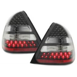 LAMPY TYLNE LED MERCEDES BENZ W202 C-KLASSE 94-00 CZARNE