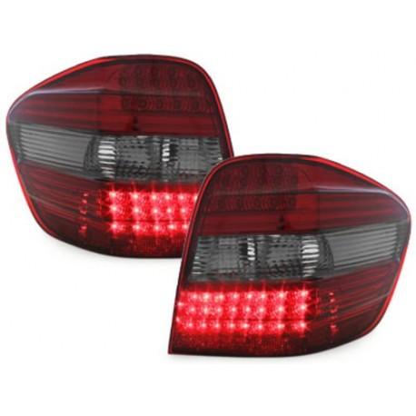 LAMPY TYLNE LED MERCEDES BENZ M-KL. 05+ W164 CZERWONE / DYMIONE
