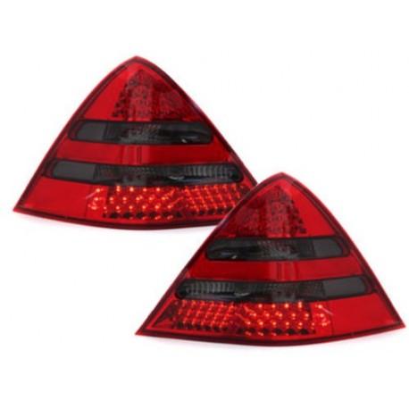 LAMPY TYLNE LED MERCEDES BENZ SLK R170 00-04 CZERWONE / DYMIONE