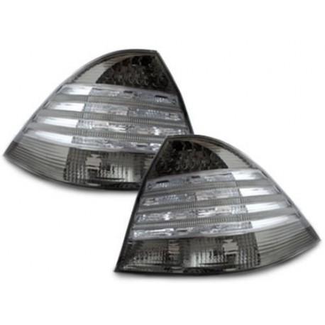 LAMPY TYLNE LED MERCEDES BENZ W220 S-KLASA CZARNE / DYMIONE