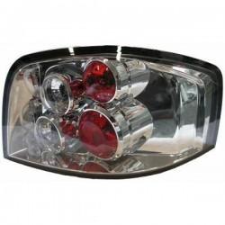 LAMPY TYLNE TUNINGOWE ZESTAW AUDI A3 8P 3D CHROM