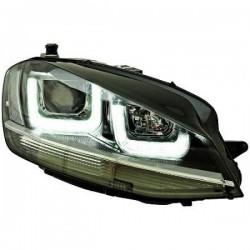 REFLEKTORY TUNINGOWE ZESTAW VW GOLF 7 12+ CZARNE