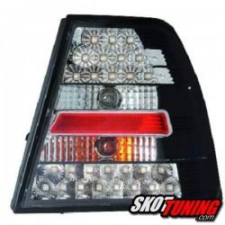 LAMPY TYLNE LED VW BORA 4D 99-05 CZARNE