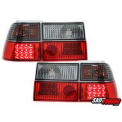LAMPY TYLNE LED VW CORRADO 88-95 CZERWONE / DYMIONE