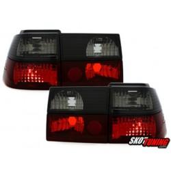 LAMPY TYLNE VW CORRADO 88-95 CZERWONE / CZARNE