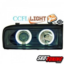 REFLEKTORY CCFL VW CORRADO 87-95 CZARNE