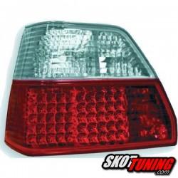 LAMPY TYLNE LED VW GOLF II 83-92 CZERWONE / PRZEŹROCZYSTE
