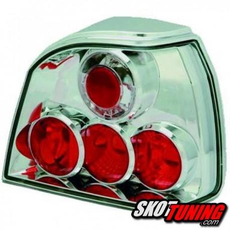 LAMPY TYLNE VW GOLF III 91-98 PRZEŹROCZYSTE