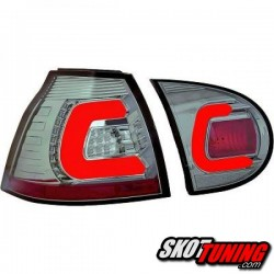 LAMPY TYLNE LED VW GOLF V 03-09 CHROM / DYMIONE