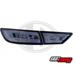 LAMPY TYLNE LED RENAULT CLIO IV 2013+  CHROM / DYMIONE