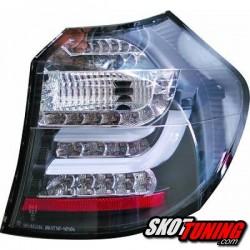 LAMPY TYLNE LED BMW SERII 1 E87 08-11 CZARNE