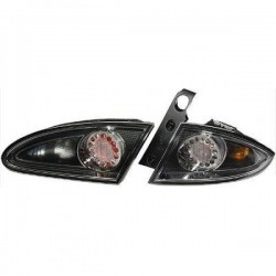 LAMPY TYLNE LED SEAT LEON 1P 05-09 CZARNE