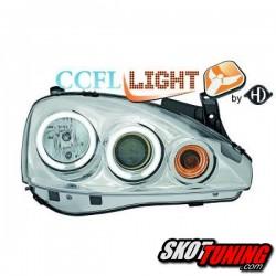 REFLEKTORY CCFL OPEL CORSA C 01-06 CHROM