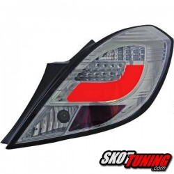 LAMPY TYLNE LED OPEL CORSA D 06-14 3D DYMIONE