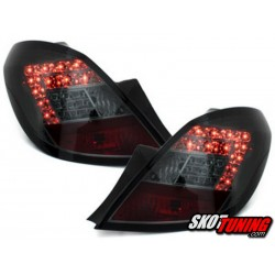 LAMPY TYLNE LED OPEL CORSA D 06-08 5D DYMIONE