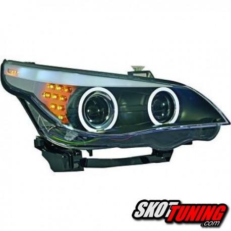 Bmw E60 Czarne Lampy