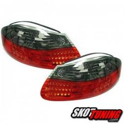 LAMPY TYLNE LED PORSCHE BOXSTER 986 96-04 CZERWONE / DYMIONE