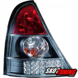 LAMPY TYLNE LED RENAULT CLIO II 01-05 CZARNE