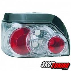 LAMPY TYLNE RENAULT CLIO I 90-98 PRZEŹROCZYSTE