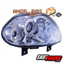 REFLEKTORY RENAULT CLIO II 98-01 CHROM RINGI