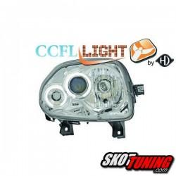 REFLEKTORY CCFL RENAULT CLIO II 98-01 CHROM RINGI