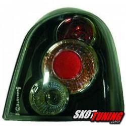 LAMPY TYLNE RENAULT TWINGO 93-00 CZARNE