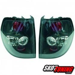 LAMPY TYLNE VW FOX 05+ CZARNE