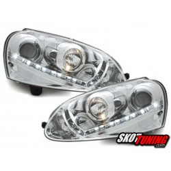 REFLEKTORY VW GOLF V 03-09 CHROM XENON