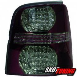 LAMPY TYLNE LED VW TOURAN 2003-2010 CZERWONE / DYMIONE