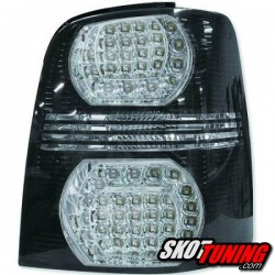 LAMPY TYLNE LED VW TOURAN 2003-2010 CZARNE