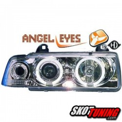REFLEKTORY LED BMW E36 COUPE / CABRIO 90-99 CHROM