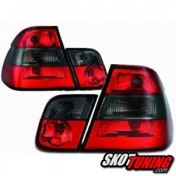 LAMPY TYLNE BMW E46 SEDAN 98-01 CZERWONE / DYMIONE