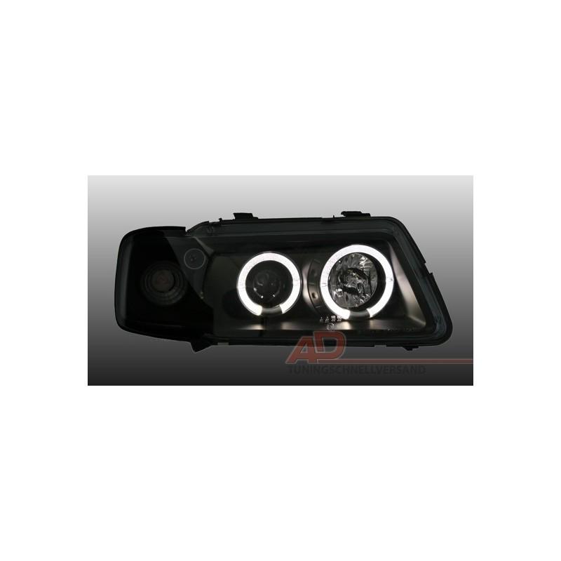 Lampy Przednie Audi A3 8l 0896 0800 Czarne