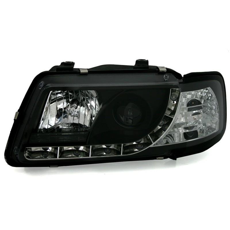 Lampy Przednie Audi A3 8l 0996 0800 Czarne