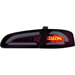 LAMPY TYLNE LED SEAT IBIZA 6L 02.02-08 CZERWONE / DYMIONE