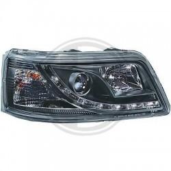 LAMPY PRZEDNIE Volkswagen T5 Multivan/Caravelle 03-10 CZARNE