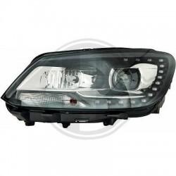 LAMPY PRZEDNIE Volkswagen Touran 10-15 CZARNE