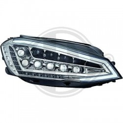 REFLEKTORY LED ZESTAW VW GOLF 7 12+ CHROM