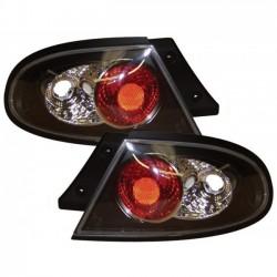 LAMPY TYLNE MAZDA 323 F 94-98 CZARNE