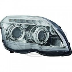 REFLEKTORY MERCEDES GLK 02-12 TUBE DESIGN CHROM