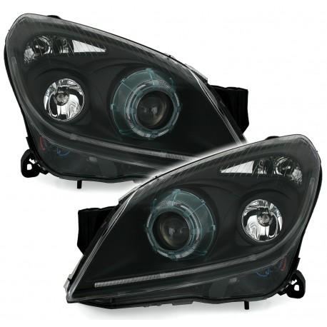 Reflektory Opel Astra H 04 09 Chrom
