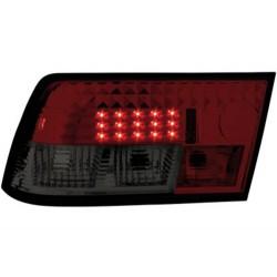 LAMPY TYLNE LED OPEL CALIBRA 90-98 CZERWONE/DYMIONE