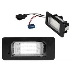 OŚWIETLENIE REJESTACJI LED AUDI A1/Q5/A4/A5/A6/A7/ VW / SKODA