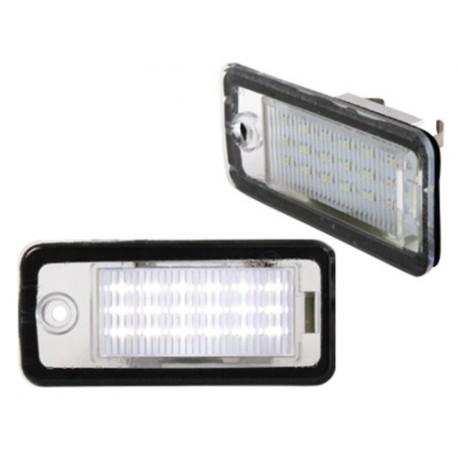 OŚWIETLENIE REJESTRACJI LED AUDI A3 8P, A4 B6, A4 , A6, A8