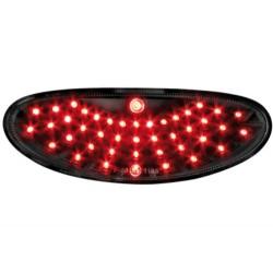 LAMPA PRZECIWMGIELNA LED PEUGEOT 206/206CC CZARNA
